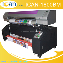 1.8m DX5 Dx7 Head Wide Flag Banner Print Eco Solvent Inkjet Printer Made In China