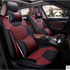 2019 models High Quality Factory Supply Amazon Facebook Leather Full Set 5D Car Seat Covers with Dropshipping Supply