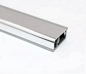 High quality glossy wall seal profile PVC kitchen plinth