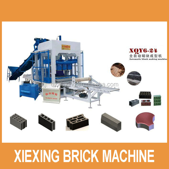 Hot sales cement blok machine
