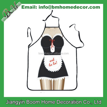 Fashion Sexy Lady Sublimation Printing Apron Bibs Home Cooking Baking Party  Funny Cleaning Apron - Buy Funny Cooking Apron,Sublimation Printing