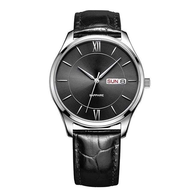 Customized design High end swiss automatic watch sapphire glass men quartz watch фото