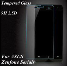 Clear 0.26 mm Front Premium Tempered Protective Glass Screen Protector Film For ASUS Zenfone 2  4.5  4  5  6 C Padfone S X