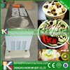 Best price cold stone marble slab top square pan roll fry ice cream machine