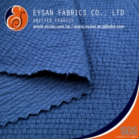 EYSAN Crinkle Jacquard Polyester Rayon Spandex Jersey Fabric
