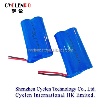 1300mah 3.7v Icr 14500 Li-ion Rechargeable Battery For Cordless ...