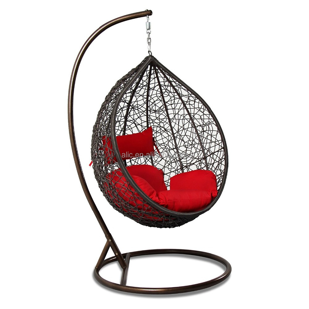 Rattan outdoor swing chair indoor hanging chair rocking chair ratta - Wicker Hanging Chair Wicker Hanging Chair Suppliers And Manufacturers At Alibaba Com