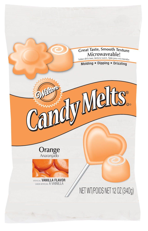 Wilton 1911-1360 Candy Melts, 12-Ounce, Orange