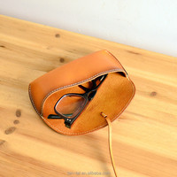 Nude Veg Tan Leather Mens Sunglasses Case Cover