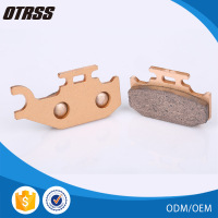 Environmental protection sintered copper brake pad for ATV motors