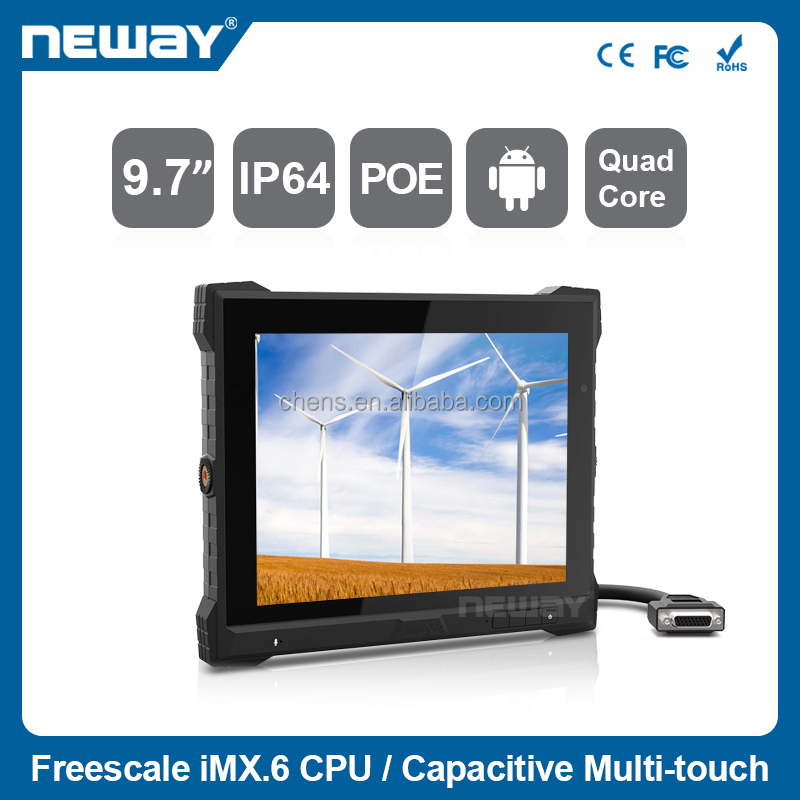 9.7 inch Screen MDT for Fleet Management Taxi Dispatch system with CANBus GPS/WIFI/3G
