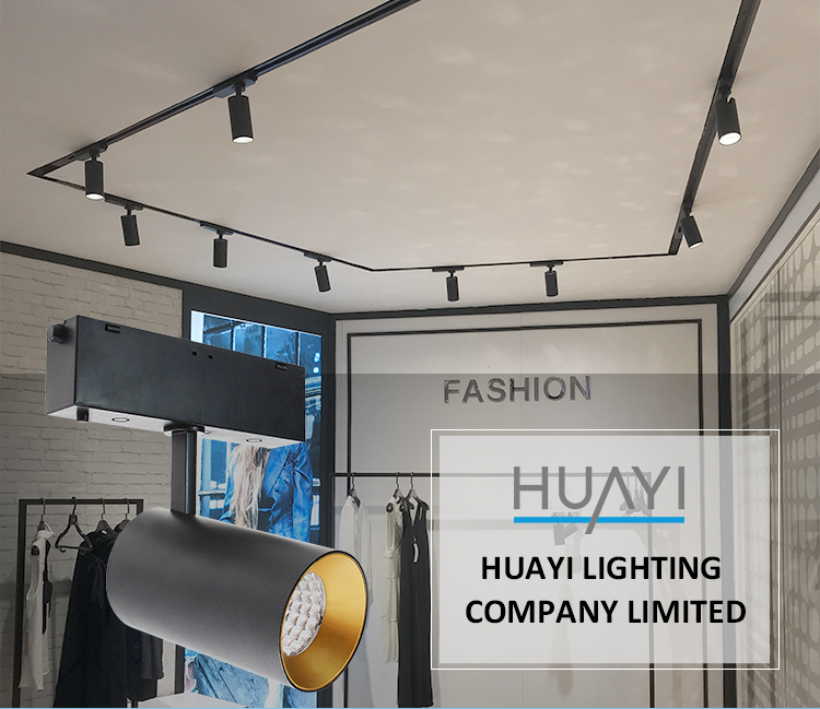 Commercial Hd Designs Indoor Hotel LED Surface Mount Round Track Lighting
