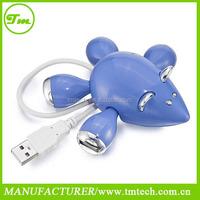 4-Port Mouse Shaped USB 2.0 Breakout super Hub