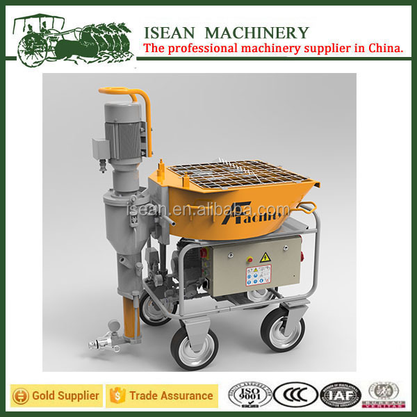 Wide range of applications MS25E automatic exterior wall plaster machine
