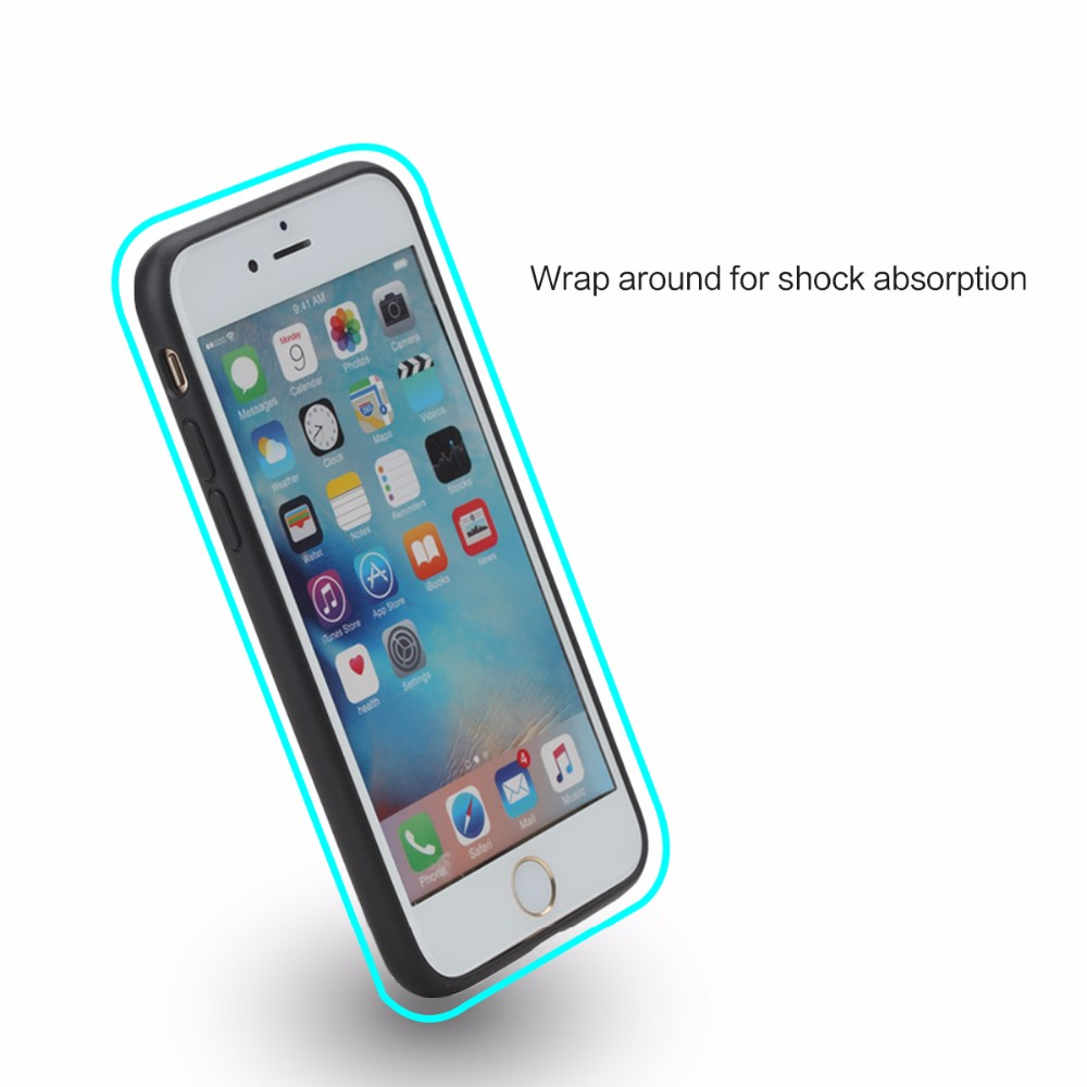 Rock For Iphone 7 Bag For Iphone 7 Plus Ring Stand Safety ...