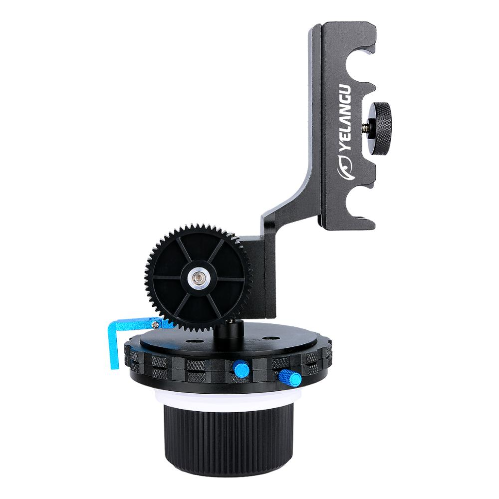 YELANGU DSLR Shoulder Support Steady Rig 15mm Mount Follow Focus F4