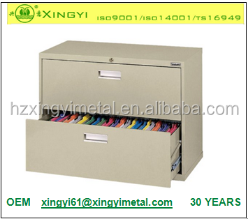 China Supplier Metal 2 Drawer Lateral File Cabinet