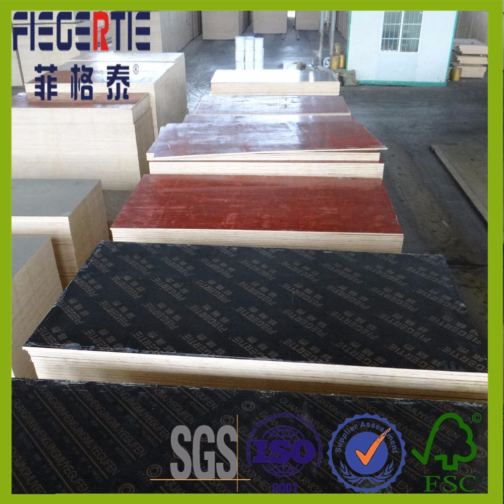 Hot selling eucalyptus film faced playwood with high quality
