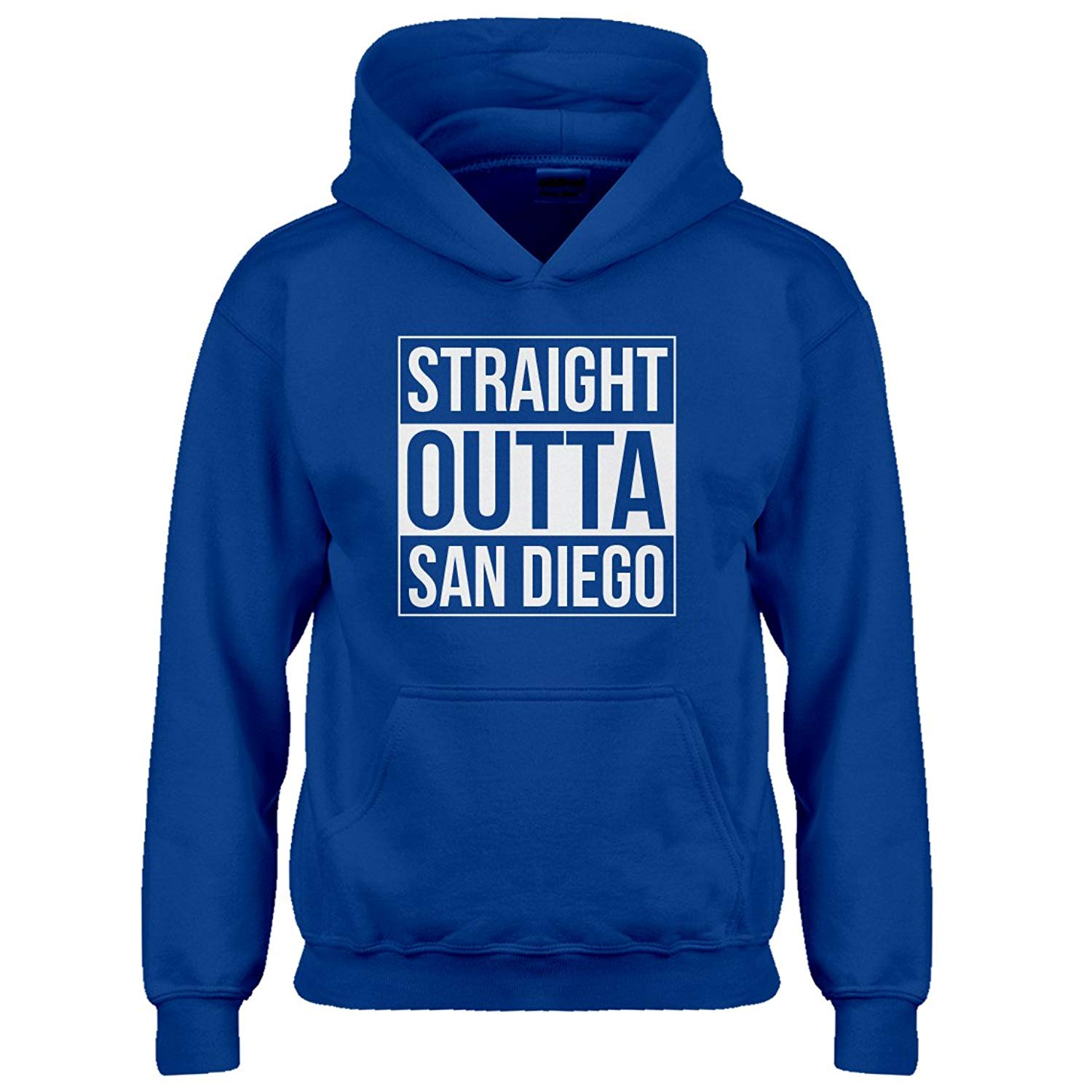 Indica Plateau Youth Straight Outta San Diego Kids Hoodie