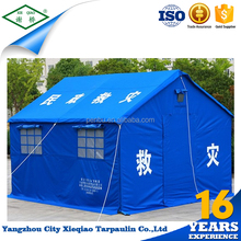 Outdoors camping waterproof waxed canvas tent goods from china