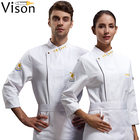 5 star hotel staff uniform asian restaurant chef uniforms set clothes