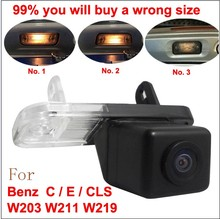 For Mercedes Benz C Class W203 E Class W211 CLS Class W219 300 car Reverse rear view camera back up