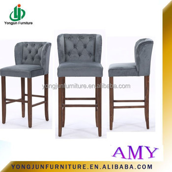 2017 Year European Style New Design Upholstery Bar Stools Chair For Furniture