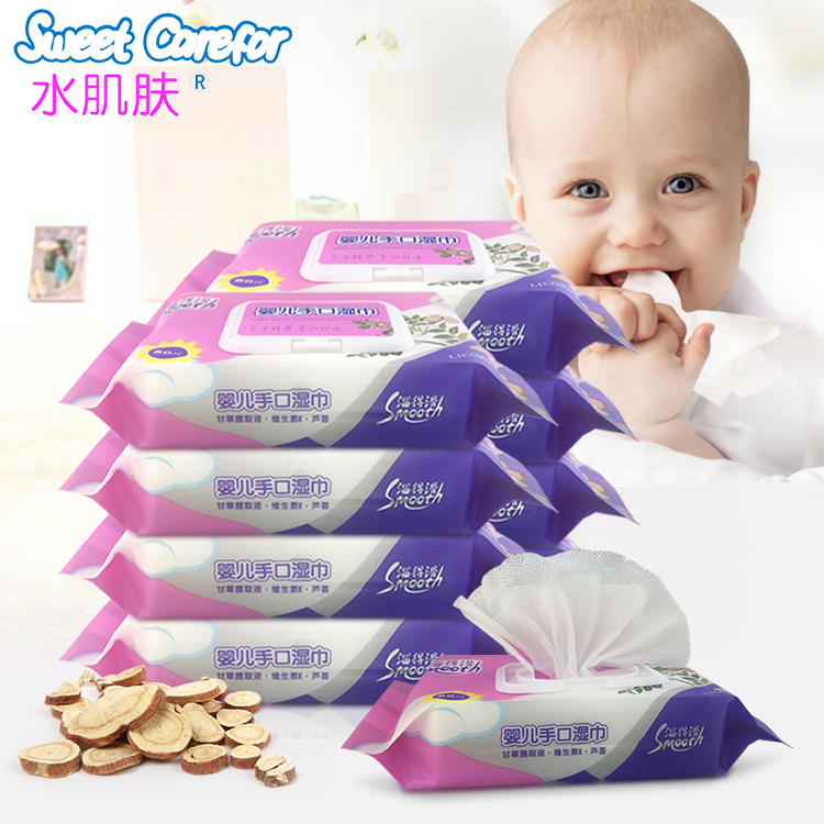 Best natural baby wipes with Licorice extract.all natural baby wipe.