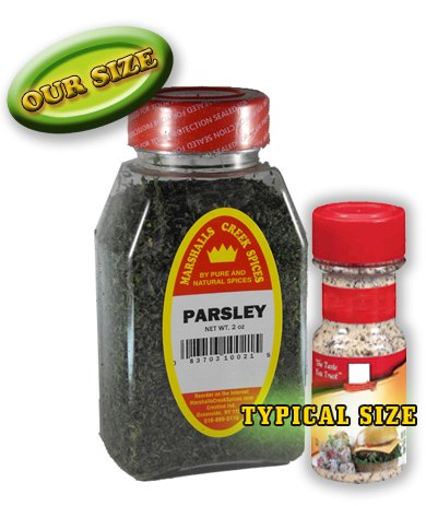 New Size Marshalls Creek Spices PARSLEY FLAKES, 2 ounces