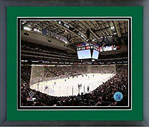 """American Airlines Center Dallas Stars NHL Stadium Photo (Size: 22.5"""" x 26.5"""") Framed"""