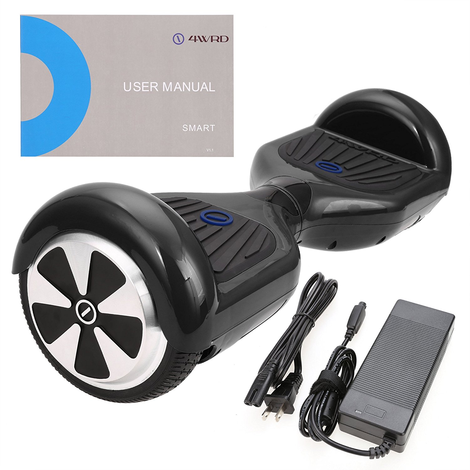SURFUS Smart S - UL 2272 Certified Hoverboard - Electric Balance hoverboard (Black)