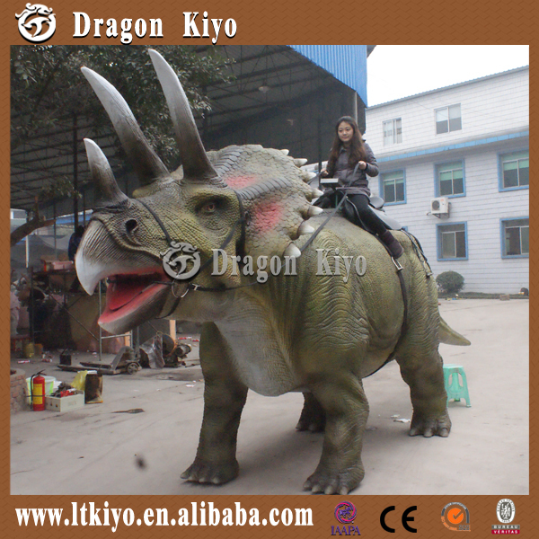 2015 sale the robot animatronic walking dinosaur model
