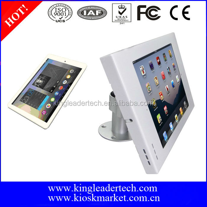 "Cheapest All-around Rotatable 9.7"" Android Tablet Display Kiosk"
