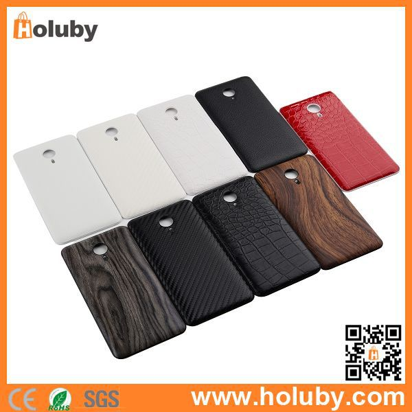 Wholesale Leather Skin PC Hard Battery Cover for Meizu MX4 Pro, for Meizu MX4 Pro Battery Cover