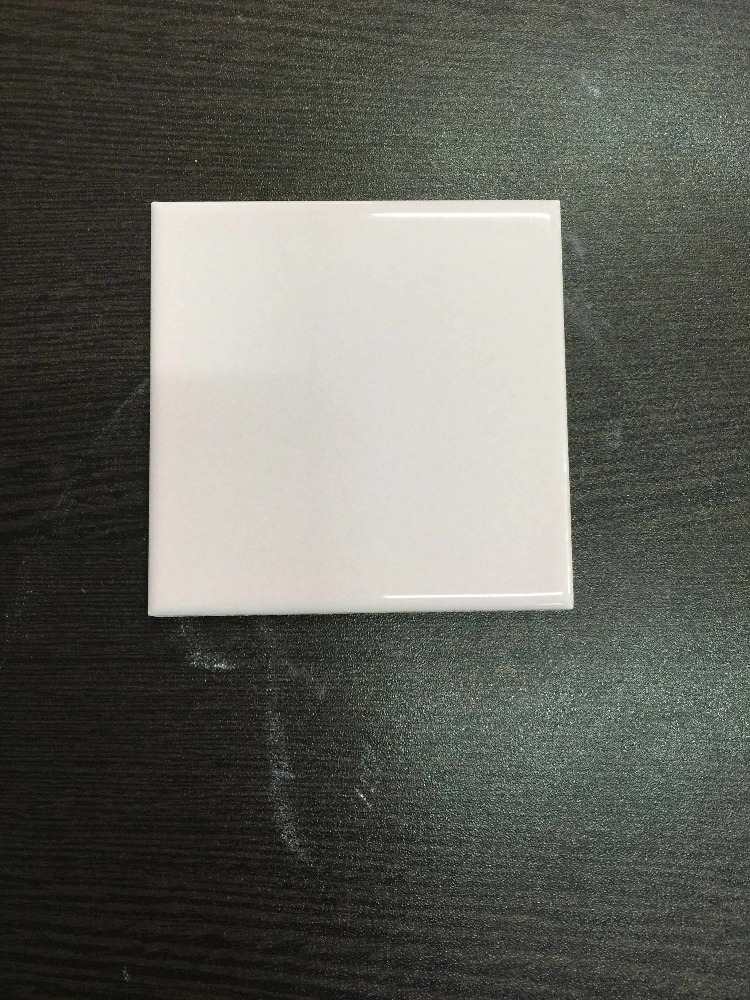 pink ceramic bathroom wall tile 100*100mm for hot sale