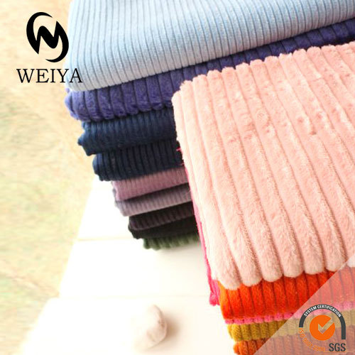 China manufacturer wide wale corduroy fabric for pants