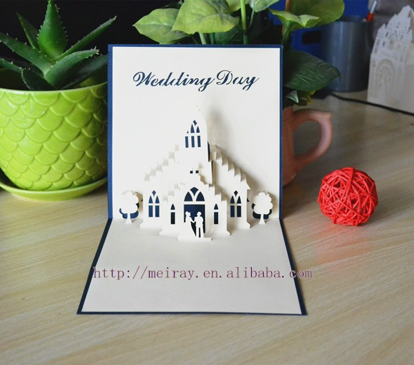 Good Pop Up Wedding Invitation Card, Pop Up Wedding Invitation Card Suppliers  And Manufacturers At Alibaba.com