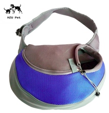 Pet sling Carrier For Cats Dogs Bunny, Extra Safety with Collar Latch and Loop , Yet Strong