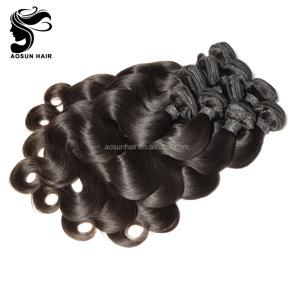 2017 New Arrivals Quality Virgin Indian Temple Remy Human Hair Bulk
