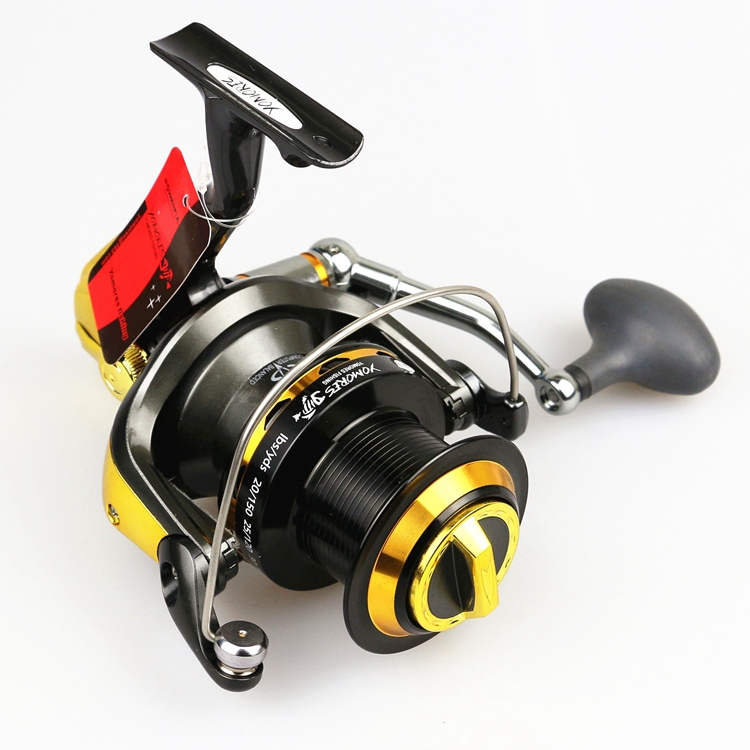 8000 9000 big game sea fishing salwter spinning reel 4.7:1 gear ratio trolling long cast surf casting surfcasting spinning reel
