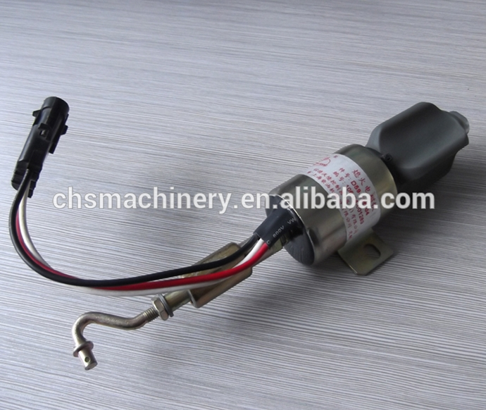 Wholesale SA-4813-24 D59-105-04 24V Fuel Cut-off Solenoid / Stop Solenoid Valve