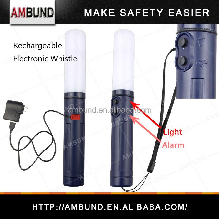 Electronic Plastic LED Flashing Survival Whistle(ST-190AA)