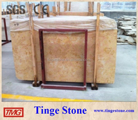 Golden rose pink marblee slabs and tiles wholesale