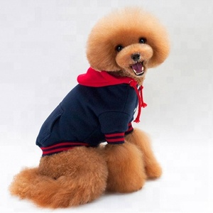 Teddy poodle sports pet clothes hoodie winter dog sweaters