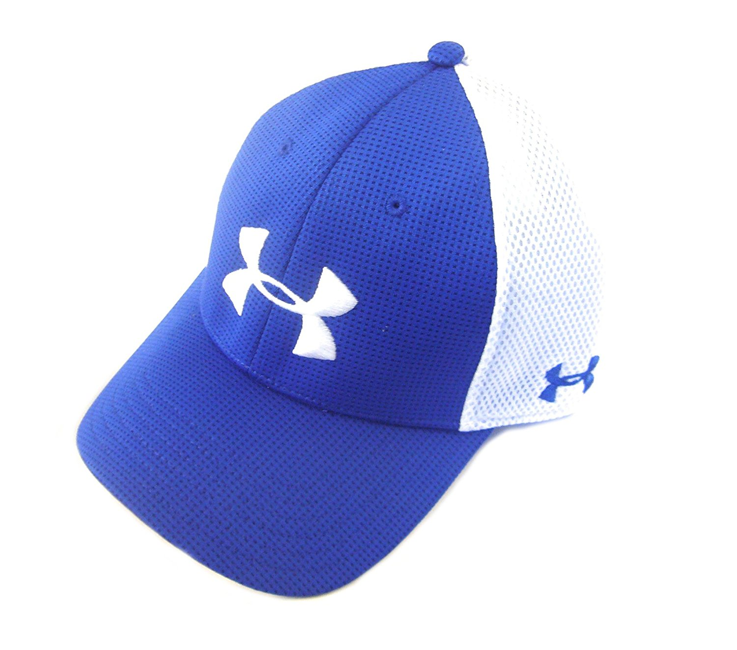 royal blue under armour hat