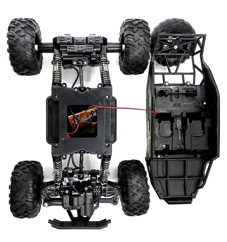 11. 6026E_Black_2.4G_4WD_Off-Road_Buggy_Rc_Climbing_Car_Remote_Control_Alloy_Car