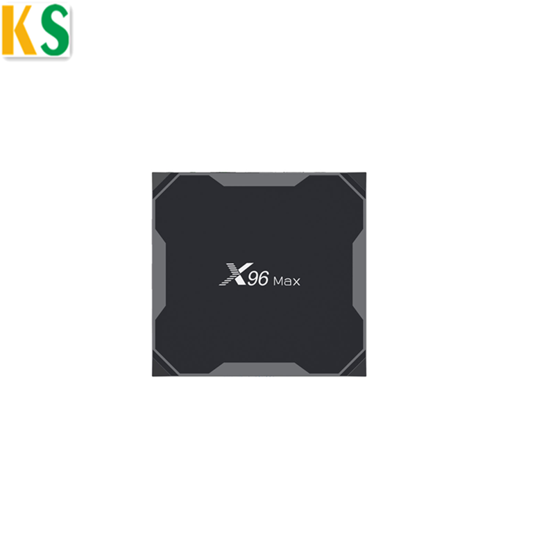 Di Vendita caldo X96 Max 4 gb/32 gb Opzionale 4 gb/64 gb Amlogic S905X2 Android Tv Box 4 k Quad core X96max