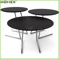 Espresso Coffee End Laptop Table Set Homex