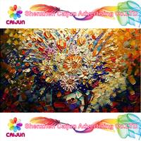 Custom photo canvas printing,high quality handmade oil art painting 24''X36'',