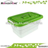 New Item Home Essential Folding Silicone Vegetable Storage Bin